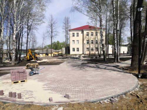 Благоустройство парка Центральный в г. Реж