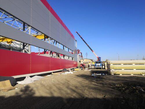 Строительство нового цеха на территории «Красногвардейский механический завод» в г. Артемовский